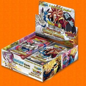 Dragon Ball Super Card Game: Unison Warrior Series Rise Of The Unison Warrior Booster Pack