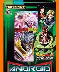 DRAGON BALL SUPER CARD GAME EXPERT DECK 02 ~ANDROID DUALITY