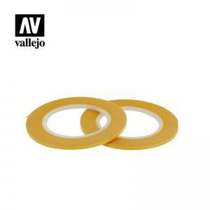 Vallejo: Cinta De Enmascarar 2mm X 18mm T07003