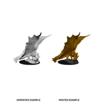 Dungeons & Dragons: Young Gold Dragon