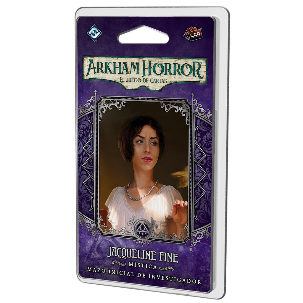 Arkham Horror LCG: Jacqueline Fine Mazo De Investigador (Preventa 28/08/20)