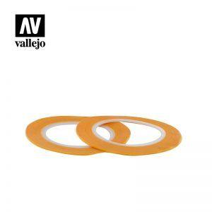 Vallejo: Cinta De Enmascarar 1mm X 18mm T07002
