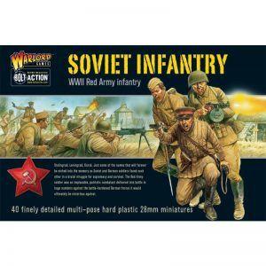 Bolt Action: Soviet Infantry Plastic Box Set
