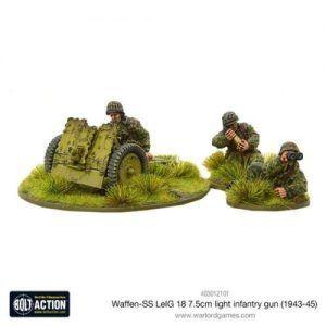 Bolt Action: Waffen-SS LeIG 18 7.5cm Light Infantry Gun (1943-45)