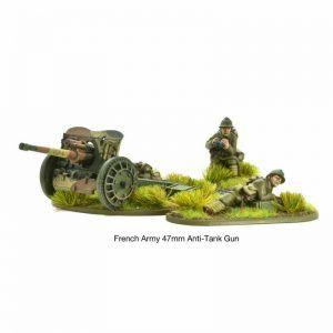 Bolt Action: French Army 47mm Medium Anti-tank Gun