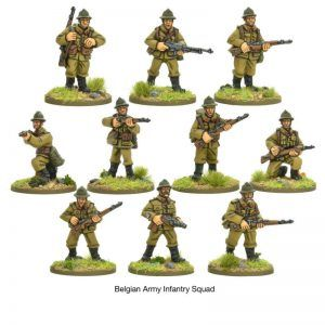 Bolt Action: Belgian Infantry Squad