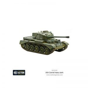 Bolt Action: A34 Comet Heavy Tank