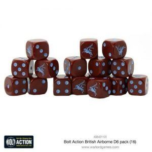 Bolt Action: British Airborne D6 Pack