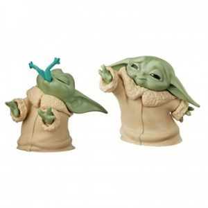 Star Wars The Mandalorian Baby Bounties Frog And Force Mini-Figures