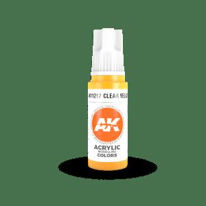 Clear Yellow 17ml AK11217