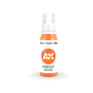 Clear Orange 17ml AK11218