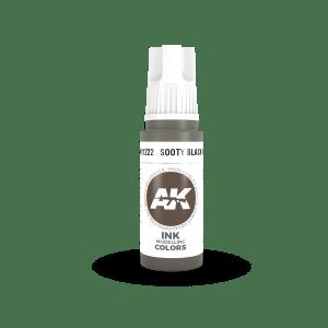 Sooty Black INK 17ml AK11222