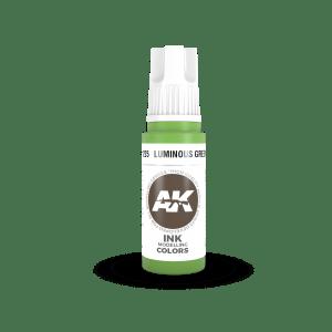Luminous Green INK 17ml AK11225