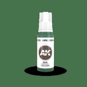 Dark Green INK 17ml AK11226