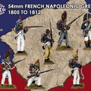 Victrix: 54mm French Napoleonic Grenadiers 1805 – 1812