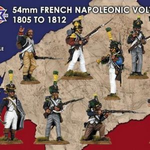 Victrix: 54mm French Napoleonic Voltigeurs 1805 – 1812