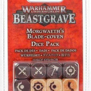 Warhammer Underworlds: Beastgrave – Set De Dados Del Pacto Afilado De Morgwaeth (110-96)