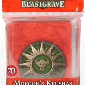 Warhammer Underworlds: Beastgrave – Fundas Premium De Machakantez De Morgok (110-90)