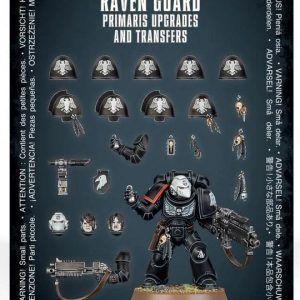 Warhammer 40000: Mejoras Y Calcomanías De Primaris Raven Guard