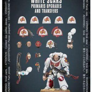 Warhammer 40000: Mejoras Y Calcomanías De Primaris White Scars
