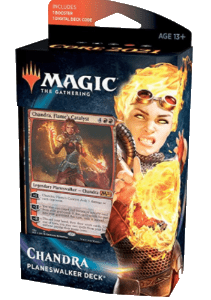 Magic The Gathering: M21 Planeswalker Deck – Chandra (Castellano)