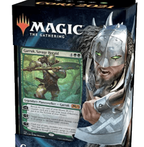 Magic The Gathering: M21 Planeswalker Deck – Garruk (Castellano)