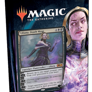 Magic The Gathering: M21 Planeswalker Deck – Liliana (Castellano)