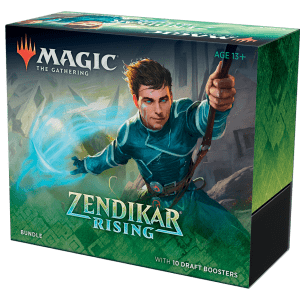 Magic The Gathering: Bundle De El Resurgir De Zendikar (Inglés)