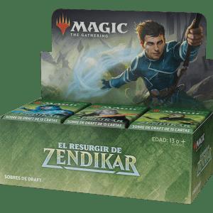 Magic The Gathering: Caja De Sobres De Draft De El Resurgir De Zendikar (Español)