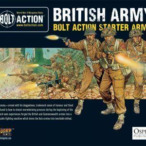 1,000pt British Army Starter Army