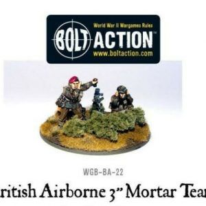 Bolt Action: British Airborne 3″ Medium Mortar Team