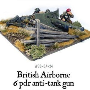Bolt Action: British Airborne Six Pounder AT Gun