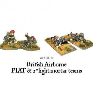 Bolt Action: British Airborne PIAT And Light Mortar Teams