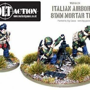 Bolt Action: Italian Airborne Medium Mortar Team