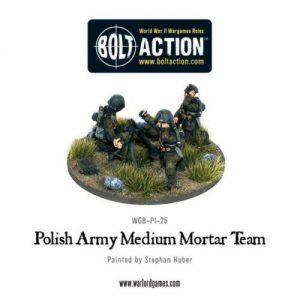 Bolt Action: Polish Army Medium Mortar Team