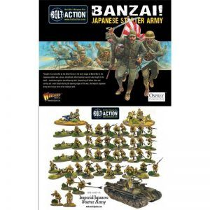 Bolt Action: Banzai! Imperial Japanese Starter Army