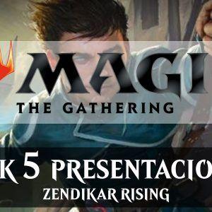 ZENDIKAR RISING Pack 5 Presentaciones – MTG