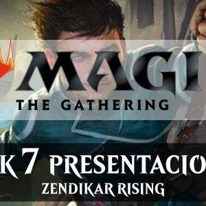 ZENDIKAR RISING Pack 7 Presentaciones – MTG