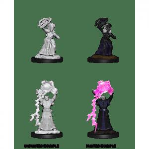 Dungeons & Dragons: Drow Mage & Drow Priestess