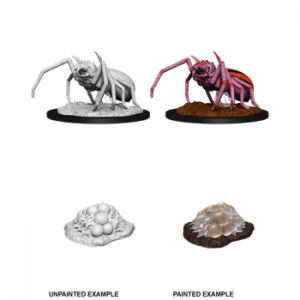 Dungeons & Dragons: Giant Spider & Egg Clutch