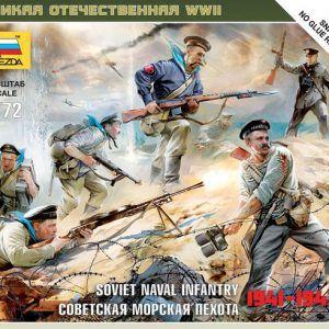 1:72 Zvezda 6146 Soviet Naval Infantry 1941-1943