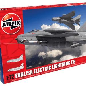 1:72 Airfix A05042A English Electric Lightning F.6