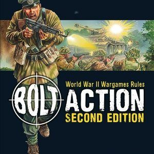 Bolt Action: Second Edition Rulebook (Ingles)