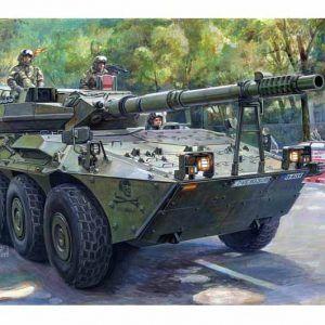 1:35 Trumpeter 00388 Spanish Army VRC-105 Centauro RCV