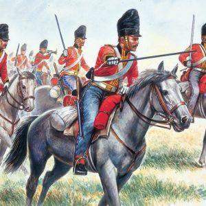 "1:72 Zvezda 6001 British Heavy Cavalry "" Scot Greys"""