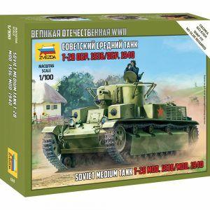 1:100 Zvezda 1940 T-34/76