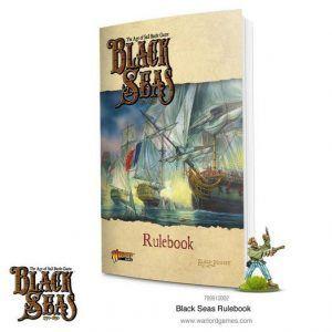 Black Seas: Rulebook (Ingles) + Miniature Promo (The Sea Wolf)