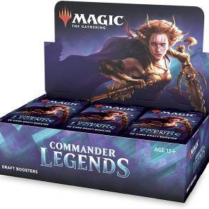 Commander Legends Draft Booster Display (24 Packs) – Ingles