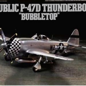 "1:72 Tamiya: Republic P-47D Thunderbolt ""Bubbletop"""