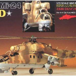 1:72 Tamiya: Mil Mi-24 Hind